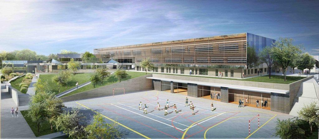 Construction d'une extension et restructuration des ateliers du lycée Alexandre Denis