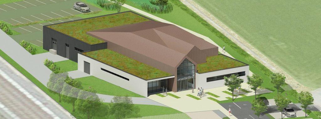 Construction d'une salle polyvalente à vocation festive, culturelle et sportive – Maroeuil (62)