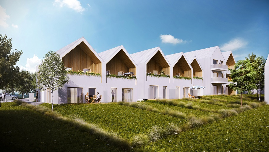 Construction de 59 logements sociaux – Quartier des Brosses et Malais – BESSANCOURT (95)
