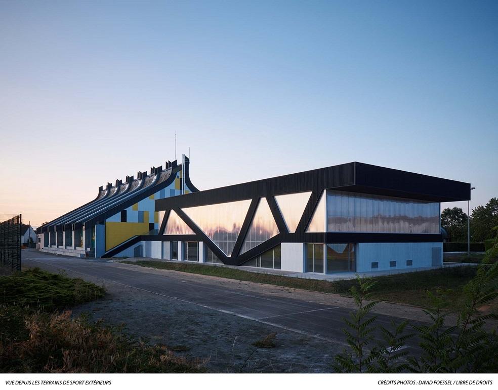 Construction d'une salle multisports à Champagné (72)