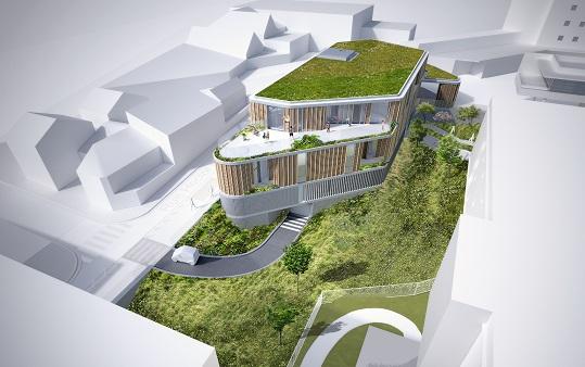 Construction neuve d'une crèche, d'une pharmacie et d'un parking – Fontenay-sous-Bois (94)