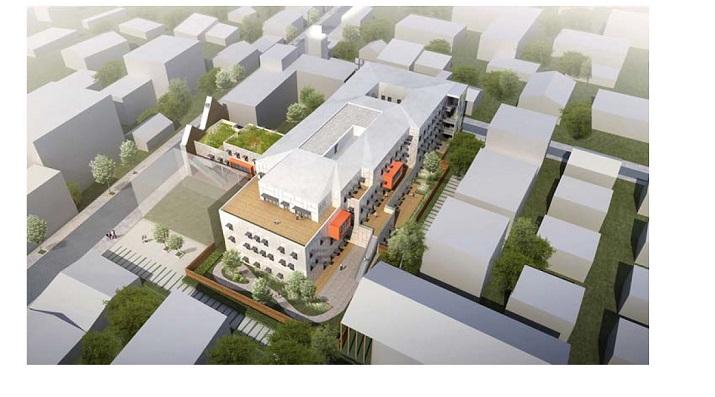Construction de la Relocalisation Pôle Infanto juvénile I03 – Montreuil (93)