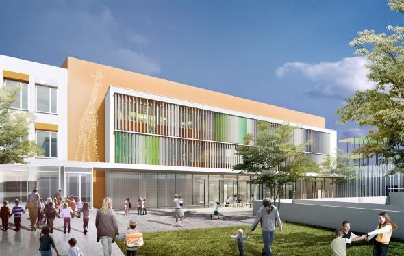 Extension et restructuration de la maternelle du Groupe scolaire Jean Vilar