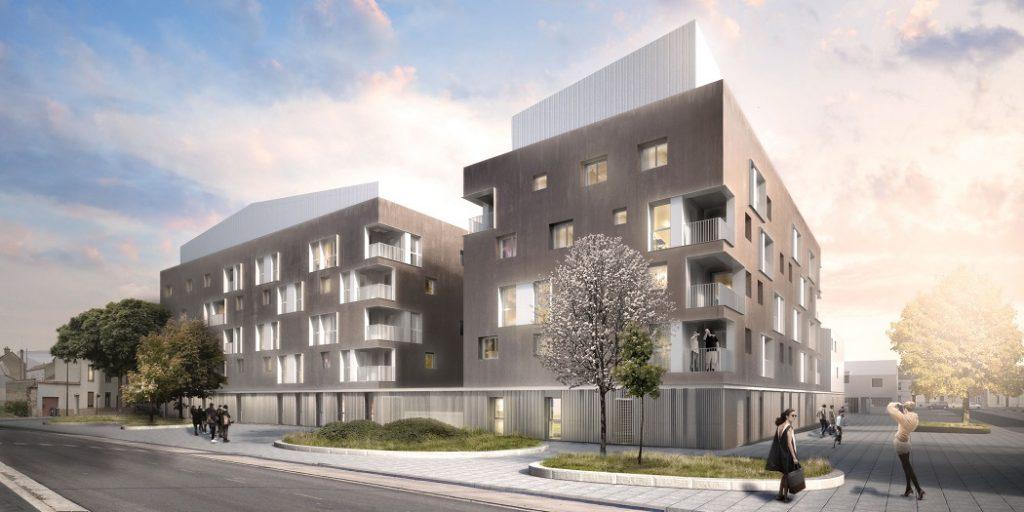 Résidentialisation, construction et réhabilitation de logements – Opération « Les Jardelines » à Reims (51)