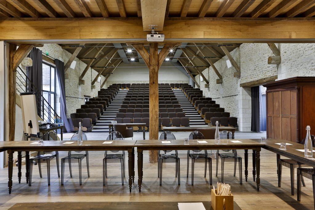 Création d'un auditorium – Domaine de Rebetz à Chaumont en Vexin (60)