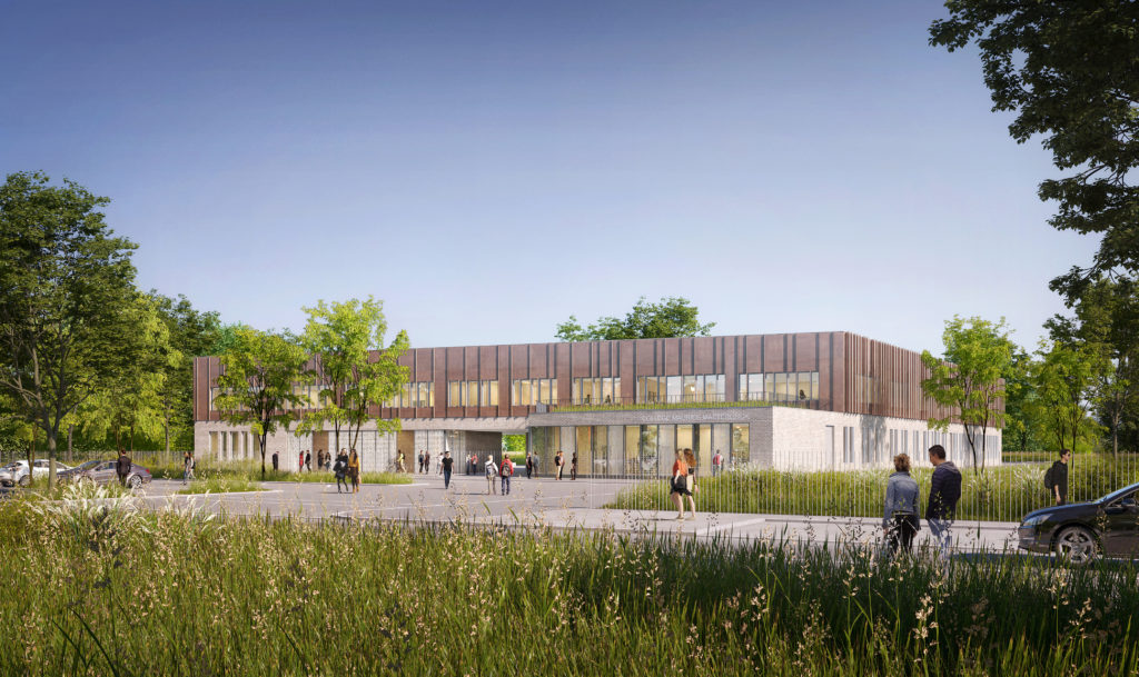 Reconstruction collège Maurice MAETERLINCK à Luneray (76)
