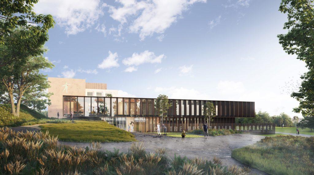 Restructuration du bâtiment hospitalier principal du Centre Hospitalier Michel Mazéas à Douarnenez (29)